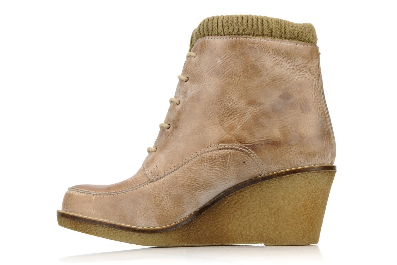 Bottines et boots Castaluna Mildred L Marron vue face