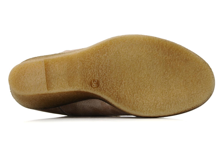 Bottines et boots Castaluna Mildred L Marron vue haut