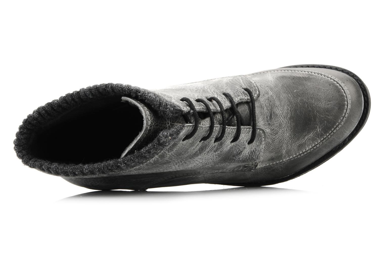 Bottines et boots Castaluna Mildred XL Gris vue gauche