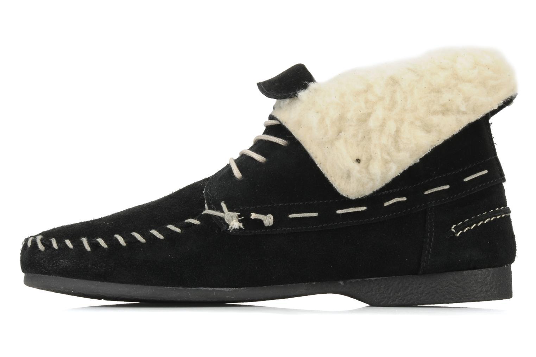 Chaussures à lacets Jonak Babs Noir vue face