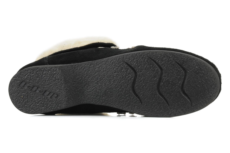 Chaussures à lacets Jonak Babs Noir vue haut