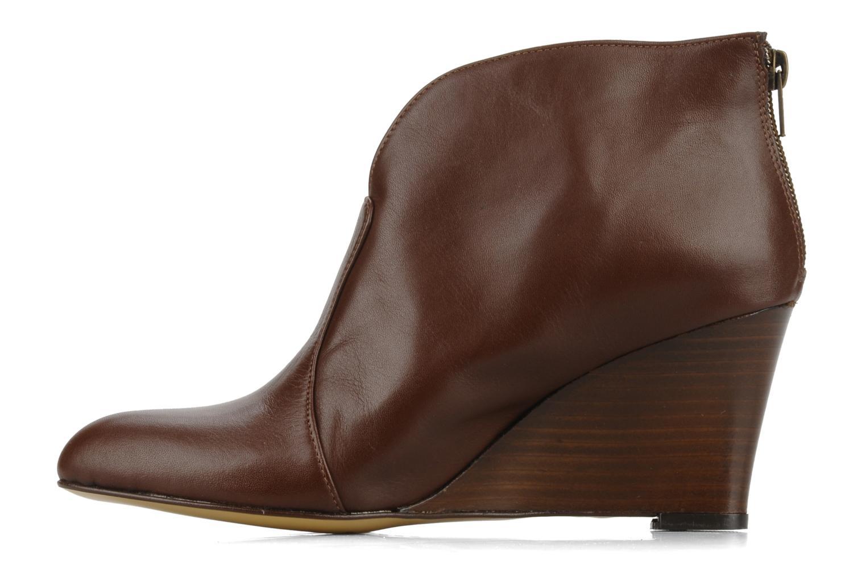 Bottines et boots Georgia Rose Majuro Marron vue face