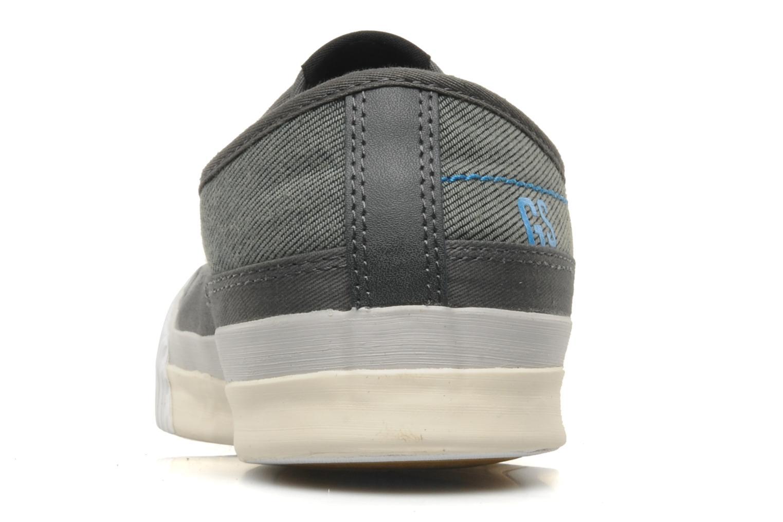 Sneaker G-Star Campus Courier Prowl Drill grau ansicht von rechts