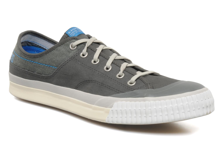 Sneaker G-Star Campus Courier Prowl Drill grau detaillierte ansicht/modell