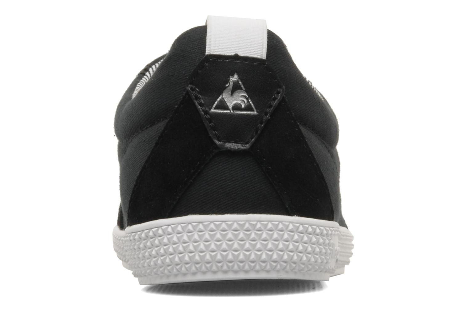 Trainers Le Coq Sportif Provencale cvs stripes M Black view from the right