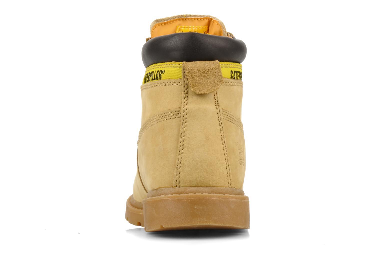 Stiefeletten & Boots Caterpillar Colorado Plus beige ansicht von rechts