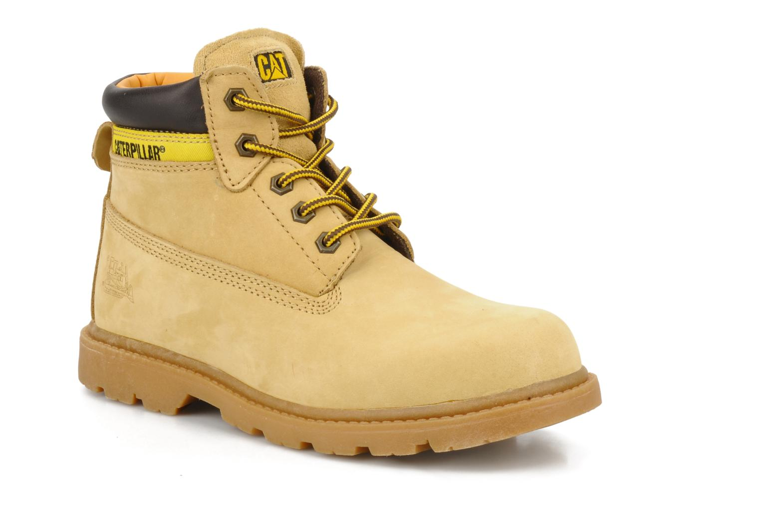 Bottines et boots Caterpillar Colorado Plus Beige vue détail/paire