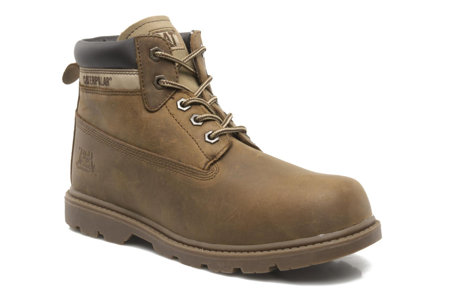 Bottines et boots Caterpillar Colorado Plus Marron vue détail/paire
