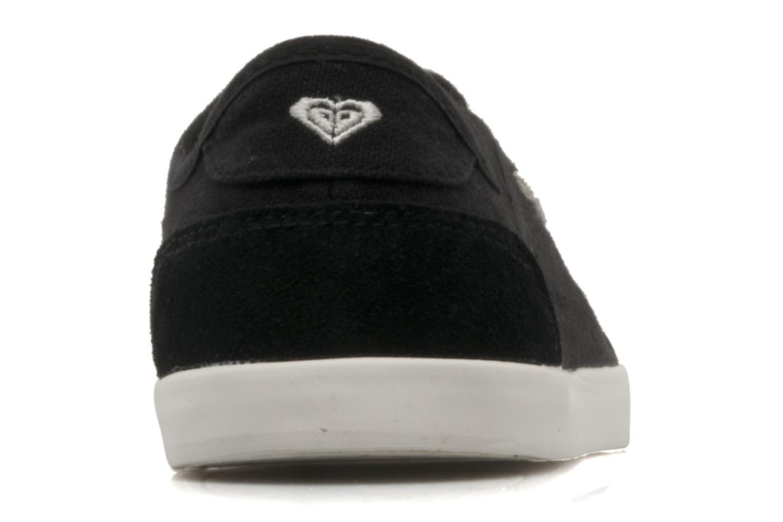 Sneakers Roxy Sneaky Dye 2 Svart Bild från höger sidan
