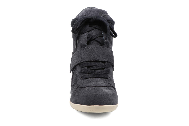 Baskets Ash Bowie Bleu vue portées chaussures