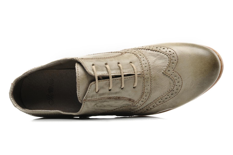 Chaussures à lacets IKKS Carey Gris vue gauche