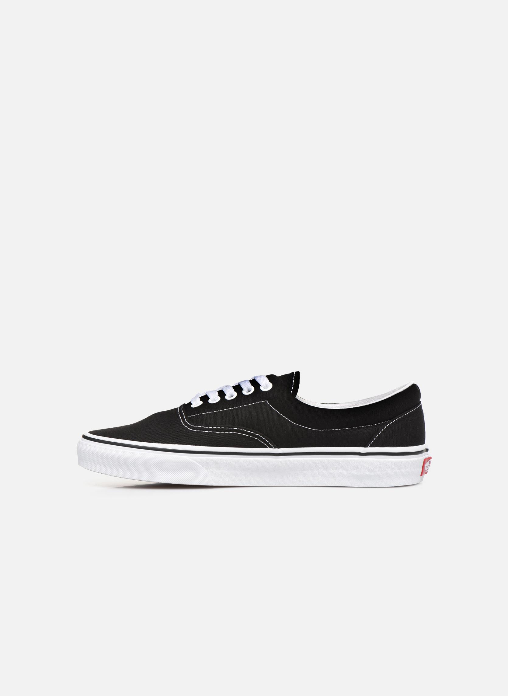 Sneaker Vans Era schwarz ansicht von vorne