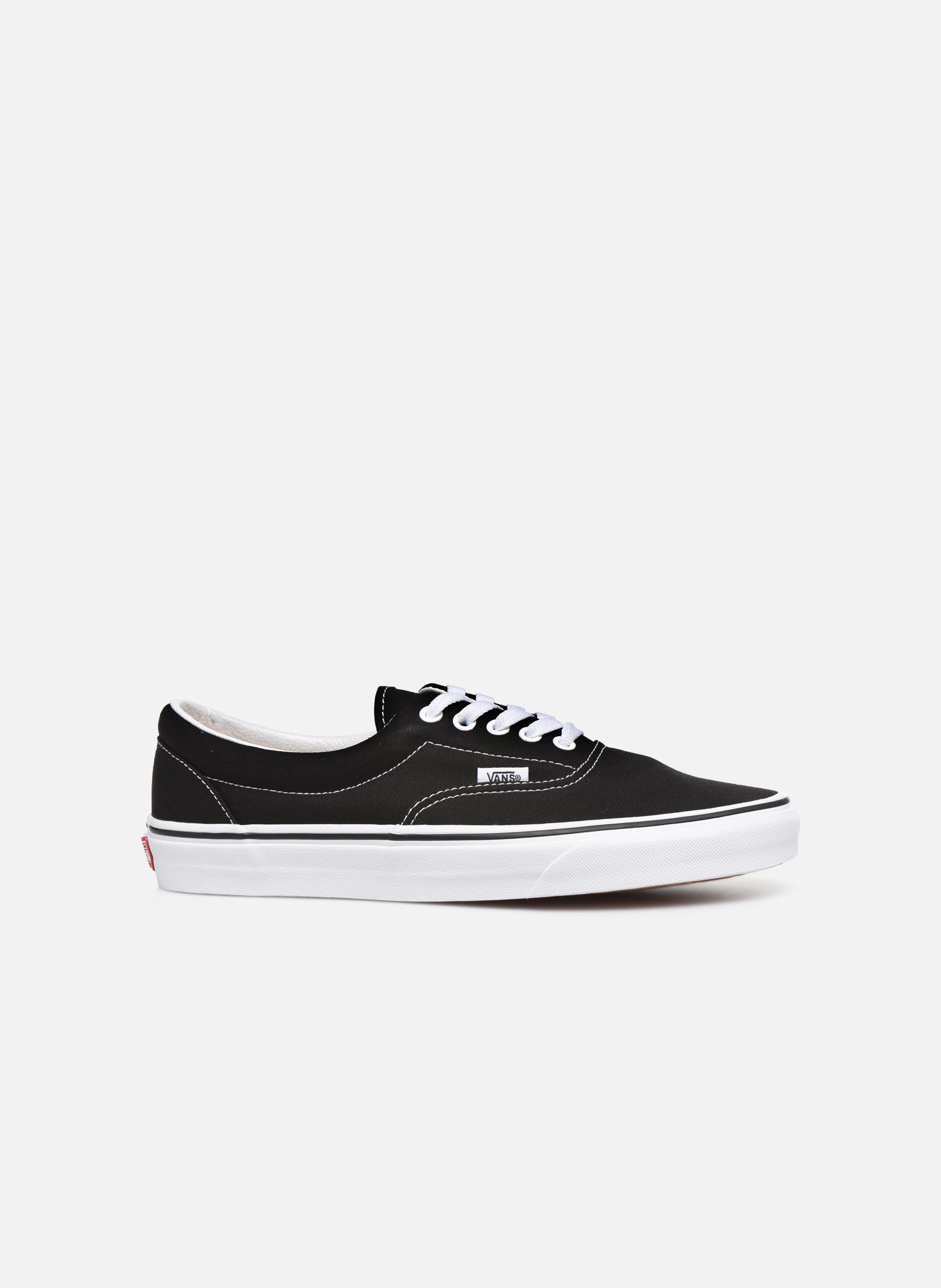 Sneaker Vans Era schwarz ansicht von hinten
