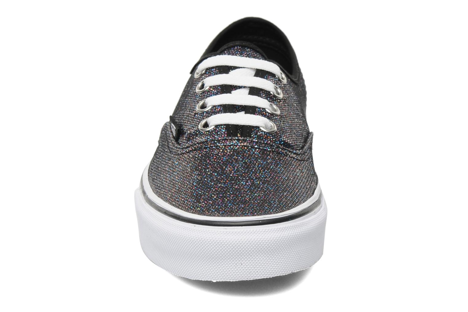Authentic w Black/True White (Iridescent Glitter)