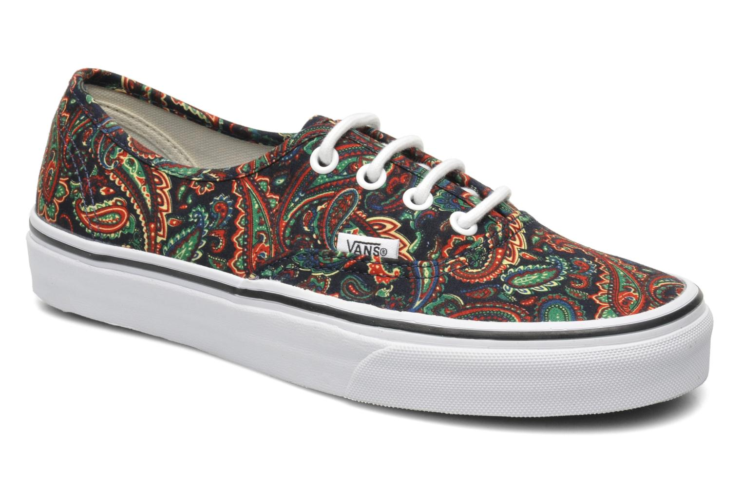 vans authentic multicolor