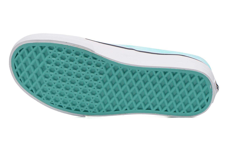 Sneaker Vans Authentic w grün ansicht von oben