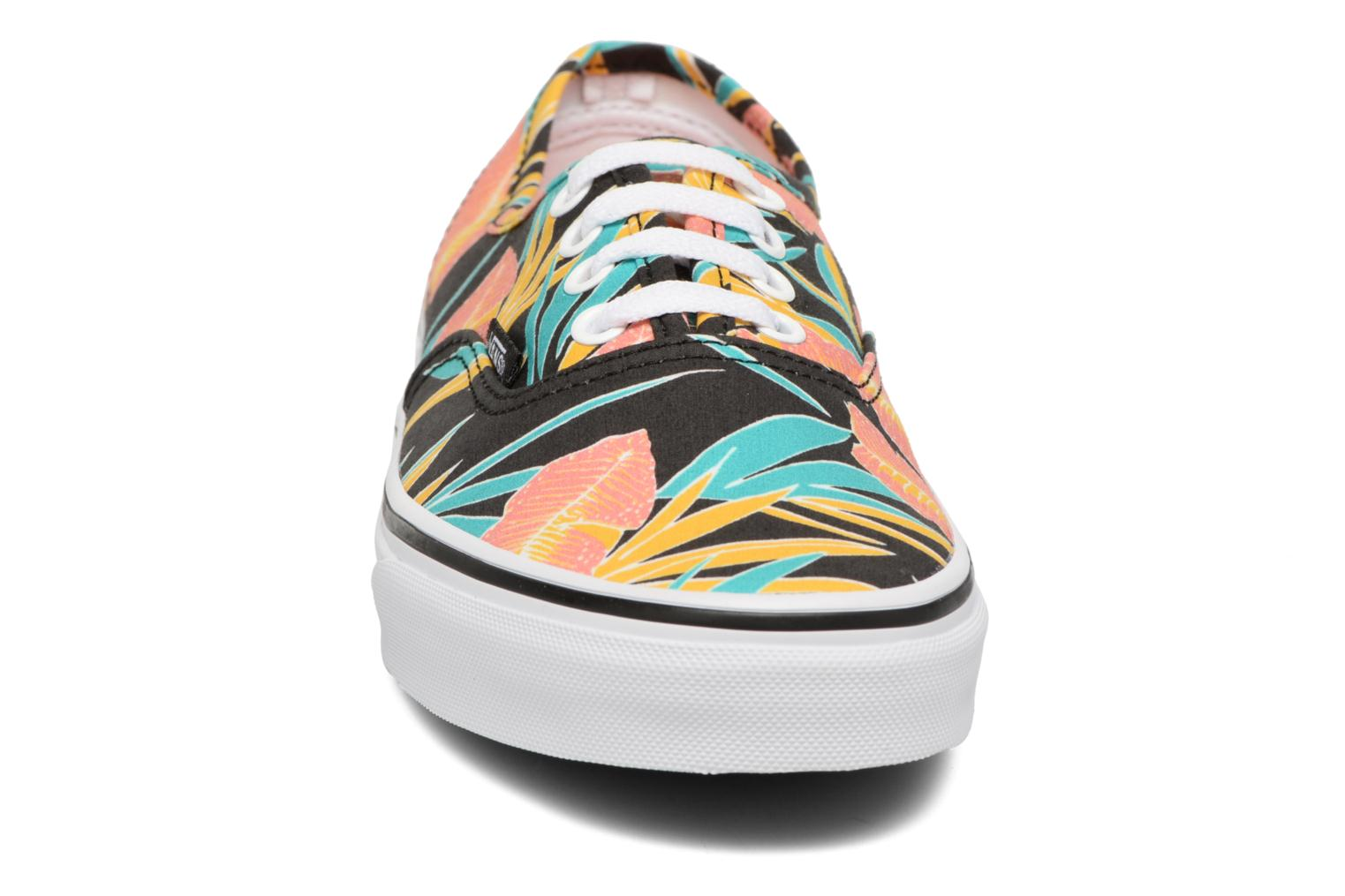 Authentic w (Tropical Leaves) Black