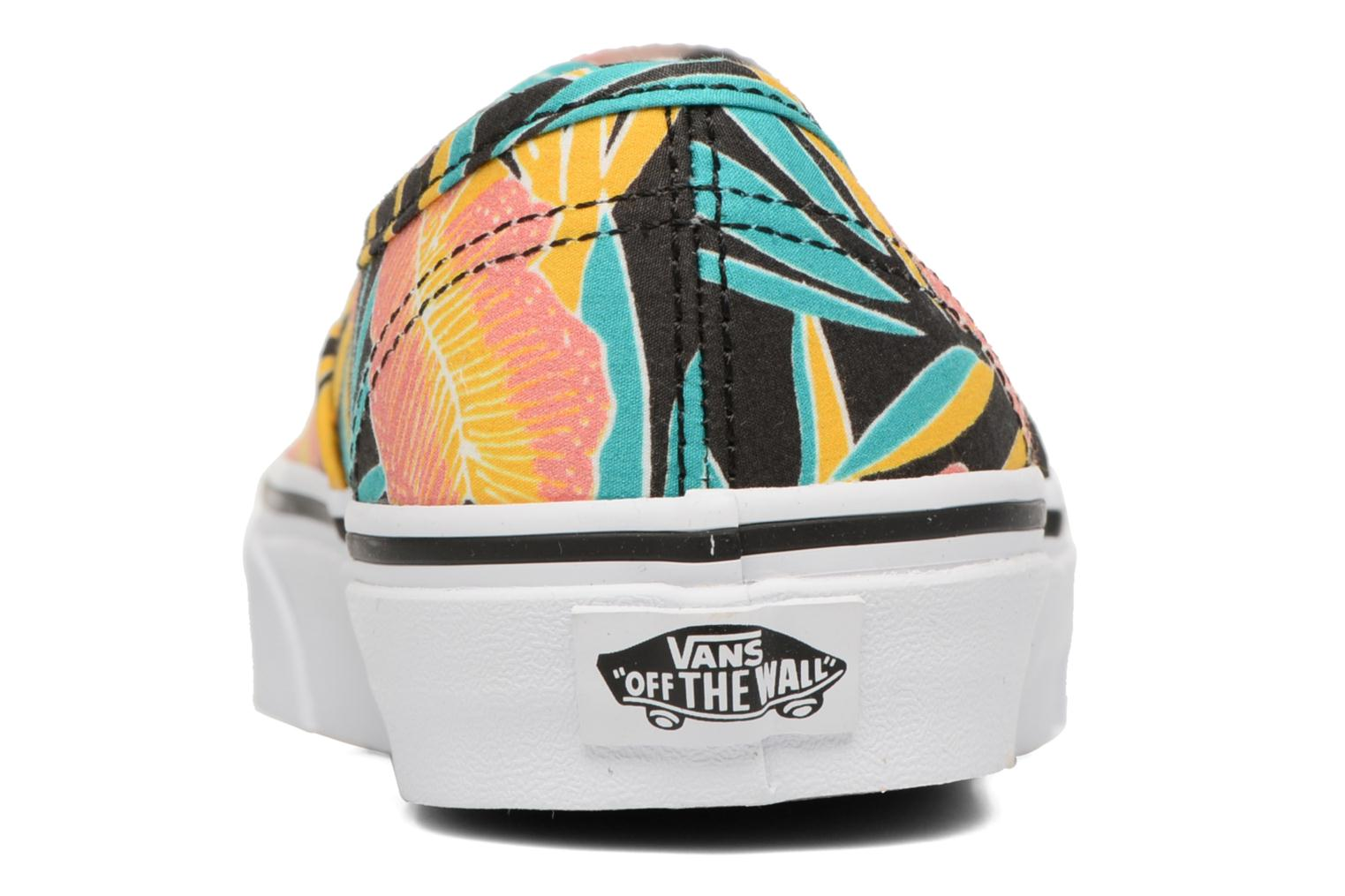 Deportivas Vans Authentic w Multicolor vista lateral derecha