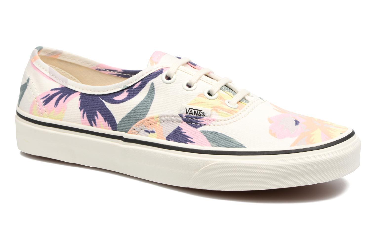 Baskets Vans Authentic w Rose vue détail/paire