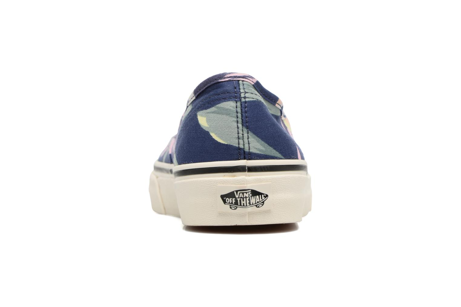 Trainers Vans Authentic w Blue view from the right