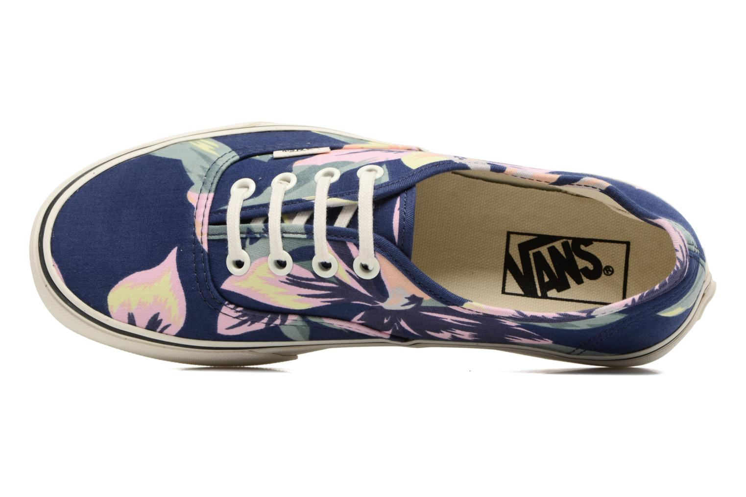 Trainers Vans Authentic w Blue view from the left