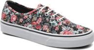 (Multi Floral) Black/True White