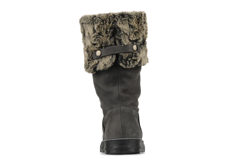Bottines et boots Eden Blimer Gris vue droite