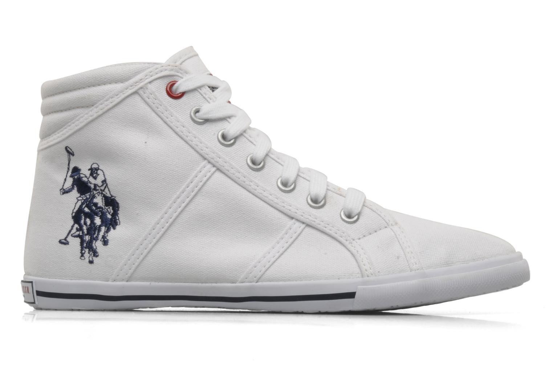 Sneakers U.S Polo Assn. Brooks Bianco immagine posteriore