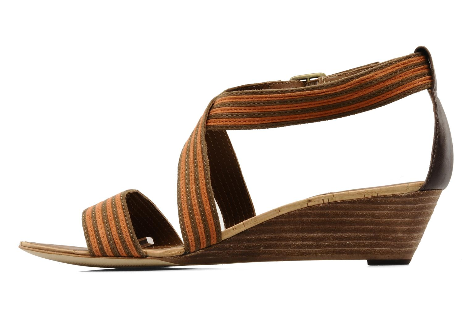Sandals Marc O'Polo Kella Brown front view