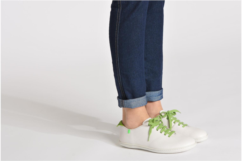 Chaussures à lacets El Naturalista El Viajero N296 W Noir vue bas / vue portée sac