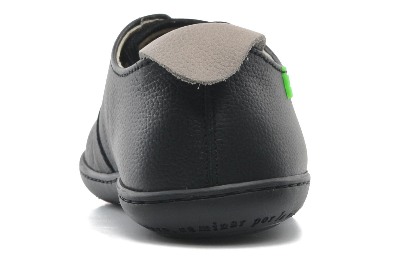 Chaussures à lacets El Naturalista El Viajero N296 W Noir vue droite