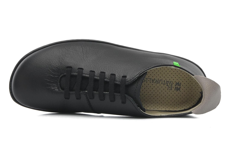 Chaussures à lacets El Naturalista El Viajero N296 W Noir vue gauche