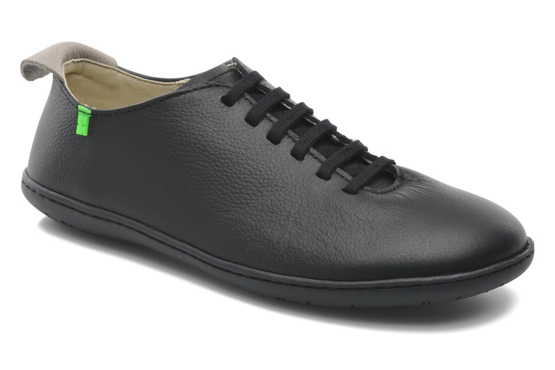 Grandes descuentos últimos zapatos El Naturalista El Viajero N296 W (Negro) - Zapatos con cordones Descuento