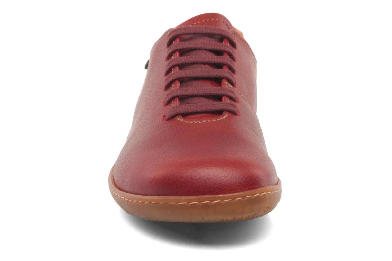 Chaussures à lacets El Naturalista El Viajero N296 W Bordeaux vue portées chaussures