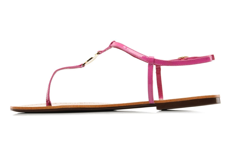 Sandales et nu-pieds Lauren by Ralph Lauren Aimon Violet vue face