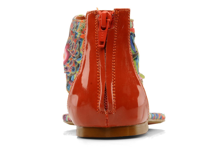 Sandales et nu-pieds Desigual Aolani Orange vue droite