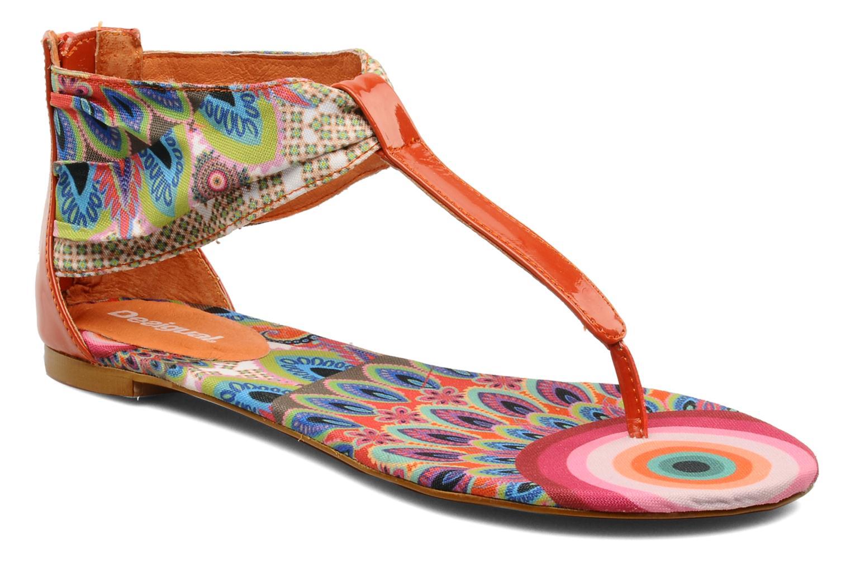 Sandales et nu-pieds Desigual Aolani Orange vue détail/paire
