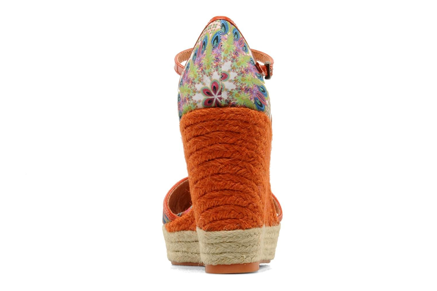 Sandals Desigual Leilani Multicolor view from the right