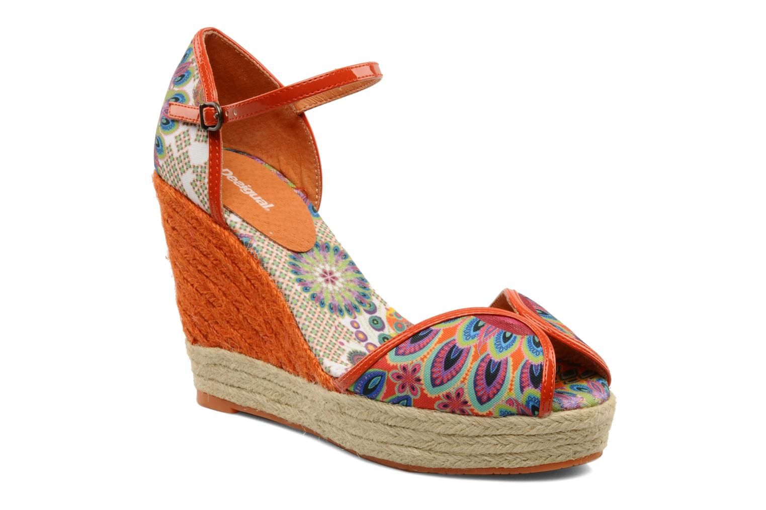 Sandals Desigual Leilani Multicolor detailed view/ Pair view