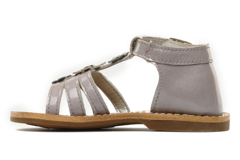 Sandali e scarpe aperte Aster VIGNETTE Viola immagine frontale