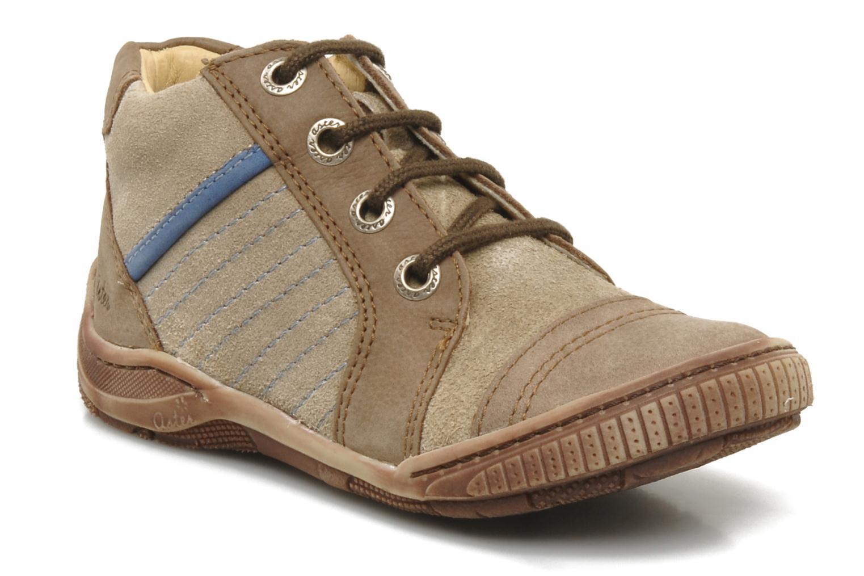 Boots en enkellaarsjes Aster HADDOCK Bruin detail