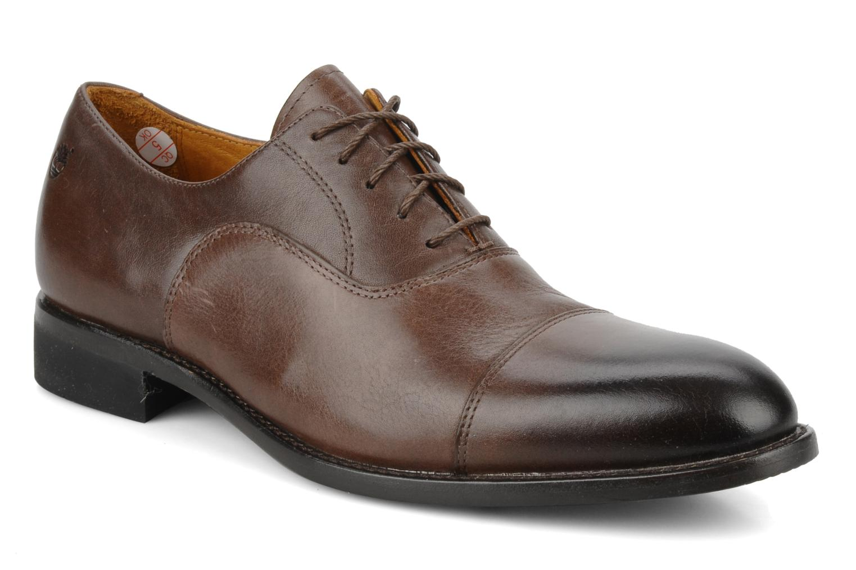 Chaussures à lacets Timberland CA Auburn Cap Marron vue détail/paire