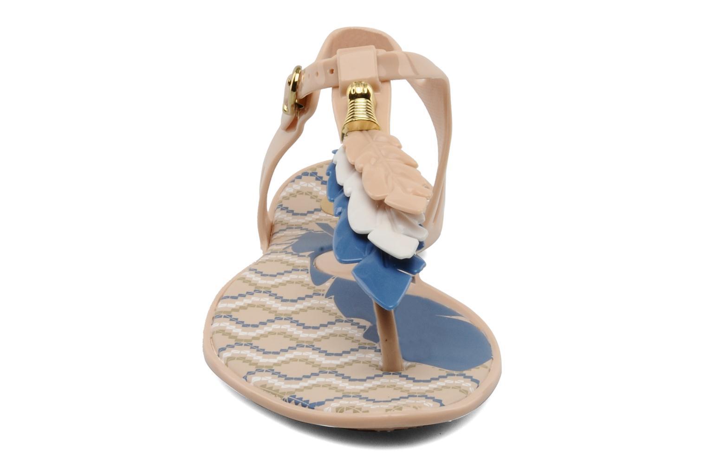 Sandals Melissa Melissa Lua III Sp Ad Beige model view