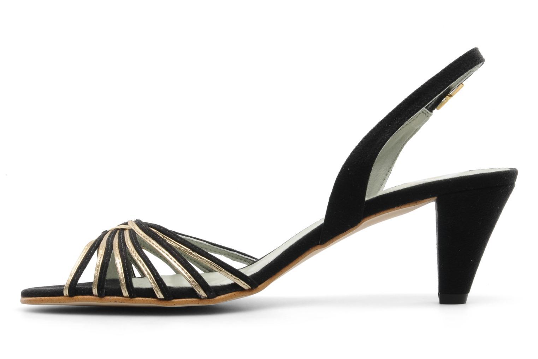 Sandales et nu-pieds Beyond Skin Jenny Noir vue face