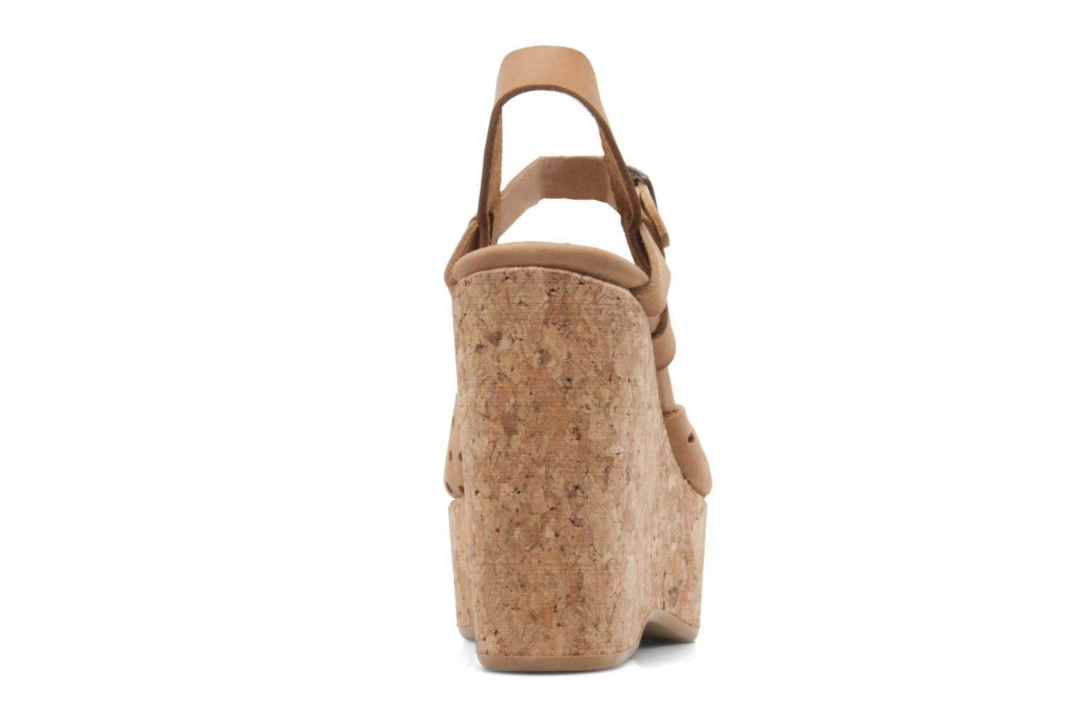 Sandals Swildens Garance Beige view from the right