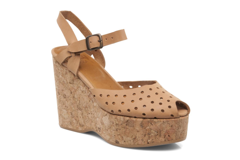 Zapatos de hombres y mujeres de moda casual Swildens Garance (Beige) - Sandalias en Más cómodo