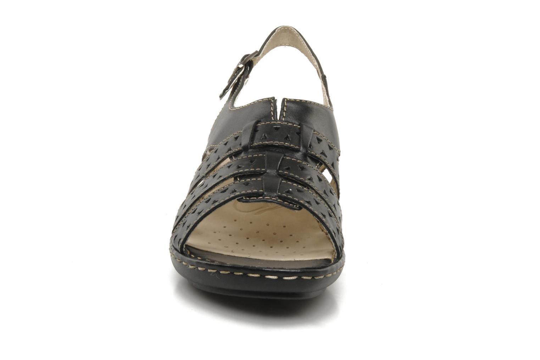 Sandals Caprice Vegati Black model view
