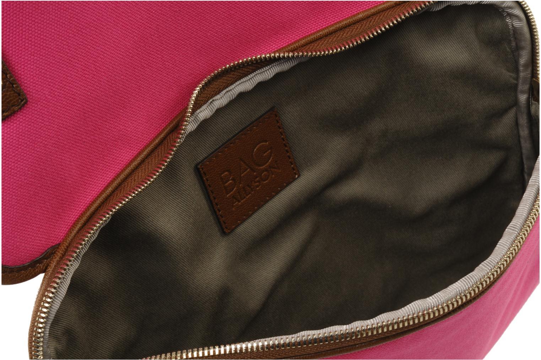 Clutch D&G ALYSSON CANVAS Roze achterkant