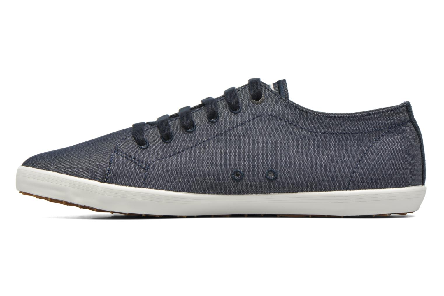 Baskets Fred Perry Kingston Chambray Bleu vue face
