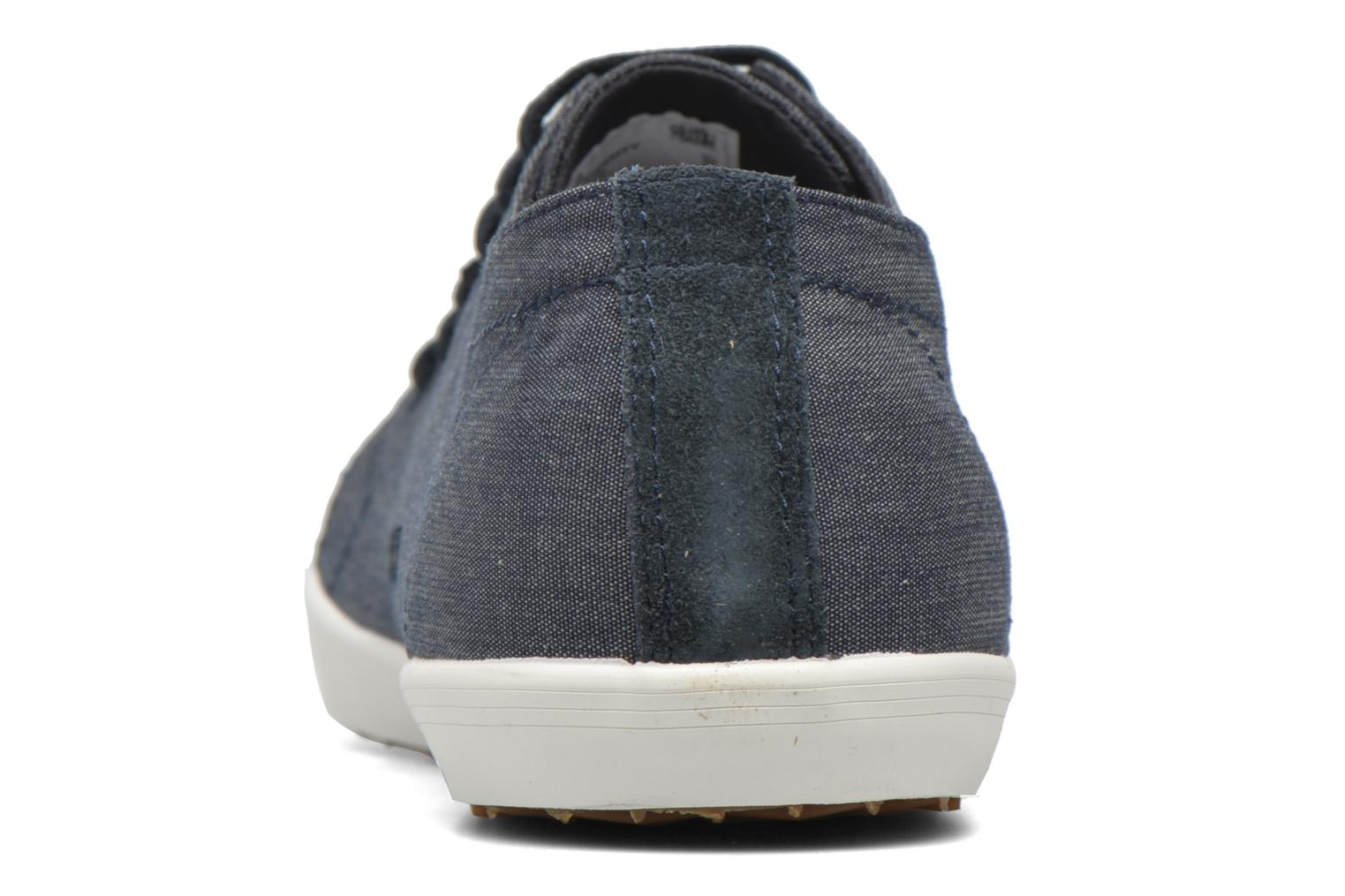 Sneakers Fred Perry Kingston Chambray Blauw rechts